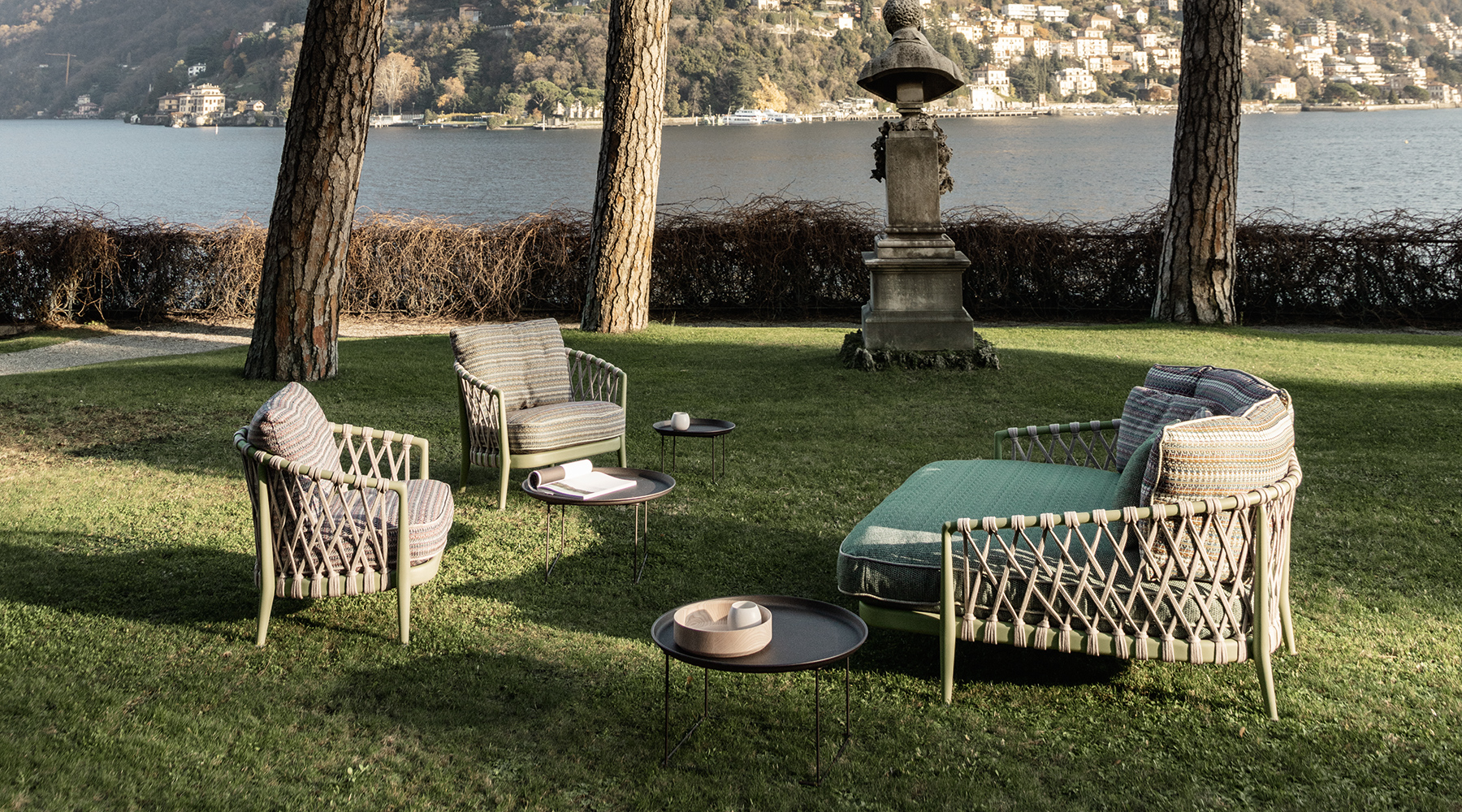 A pastel dream in Lake Como