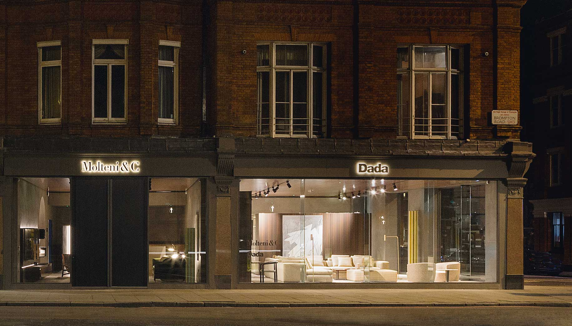 New Molteni&C | Dada Flagship Store opens in London