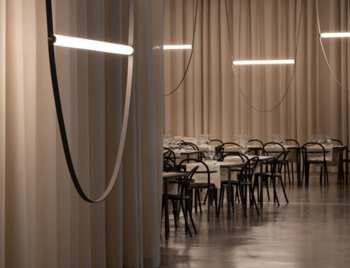 Flos | WireLine by Formafantasma lights up miart 2019