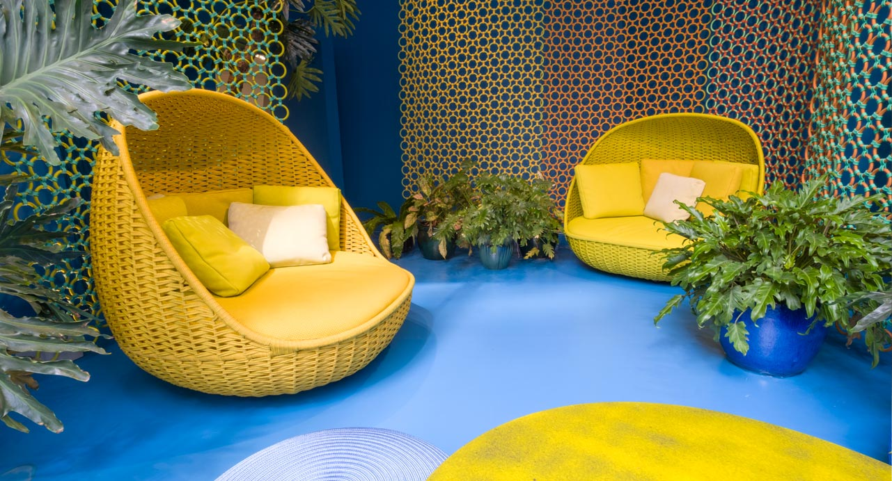 ICFF | Paola Lenti collections in New York