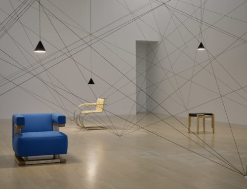 A special String Light installation for Goshka Macuga's 'Stairway to Nowhere' exhibition | Flos