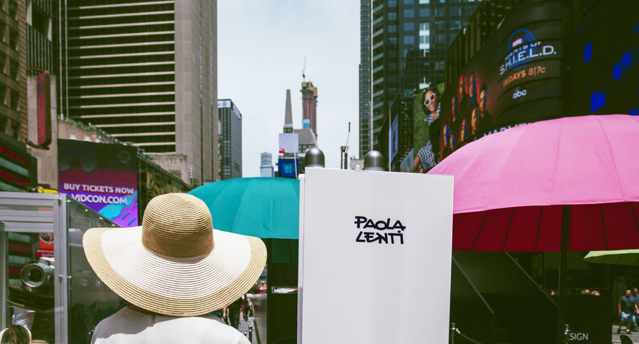 Paola Lenti at Times Square